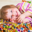 Candy kid — Stock Photo