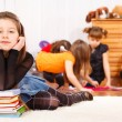 Stock Photo: Junior school student