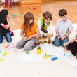 Stock Photo: Kids group