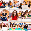 Stock Photo: Junior students actiities