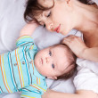 Loving mother and baby — Stock Photo #5775588