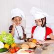 Royalty-Free Stock Photo: Kids cooking