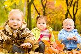 Amigos de bebé — Foto de Stock