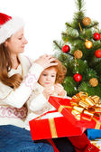 Christmas family — Stockfoto