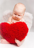 Baby angel — Stock Photo
