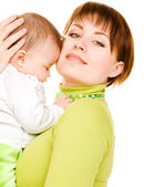 Woman with baby — Stock Photo