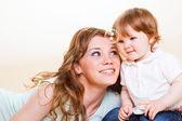 Moeder en baby — Stockfoto