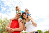 美しい家族 — ストック写真