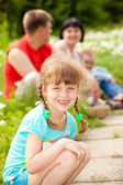 školka dívka — Stock fotografie