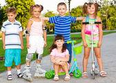 Preschool friends — Stock Photo
