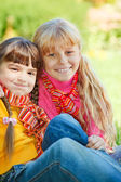 Smiling kids — Stock Photo