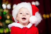 プレゼント ボックスを子供します。 — ストック写真