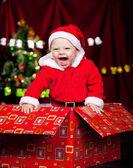 Toddler dziecko roześmiany — Zdjęcie stockowe