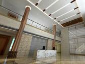 Lobby interiour — Stock Photo