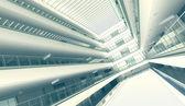 Handelszentrum hall-interieur — Stockfoto