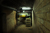 Dark basement of an old building — Stock Photo