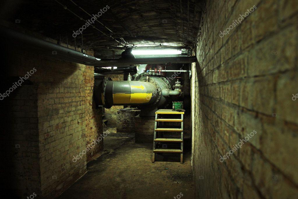 dark basement of an old building stock photo konradbak 5453238