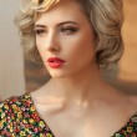 Ritratto di una perfetta bellezza bionda — Foto Stock