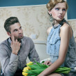 Attractive couple - Stockfoto