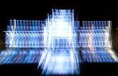 在晚上的喷泉 — 图库照片