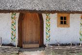 Casa do camponês ucraniano — Fotografia Stock
