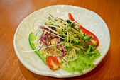 Salad in Japanese style — Stock Photo