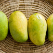 Mango in the basketry — Stock Photo