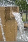 Waterval in de tuin — Stockfoto