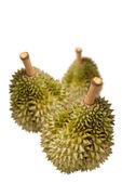Durian, Thai fruit isolated — Stock Photo