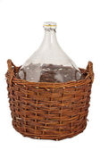 Big wine bottle — Stock Photo