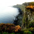 Cliffs of Kilt Rock, Scotland — Stock Photo