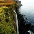 Waterfall of Kilt Rock, Scotland — Stockfoto