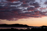 Evening sky at Coromandel — Stock Photo