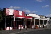 Historic stores in Coromandel — Stock Photo