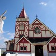 Stock Photo: St. Faith Church in Rotorua