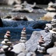 Cairn by the stream — ストック写真 #6542842