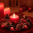 Advent wreath — Stock Photo #6746093