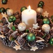 Advent wreath — Stock Photo #6746130