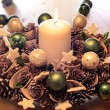 Advent wreath — Stock Photo #6746229
