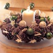 Advent wreath — Stock Photo #6746343
