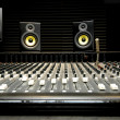 Mixing desk with speakers - Photo