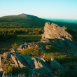 View to highest peak of south Ural — Stock Photo