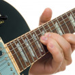 Bend on guitar — Stock Photo