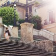 Moring in Rome — Stock Photo