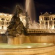 Piazza della Repubblica, fountain,night — Stock Photo #5556374