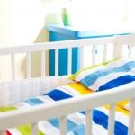 Baby cot — Stock Photo #5557398