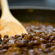 Royalty-Free Stock Photo: Spoon in beans