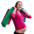 Shopping for new baby — Stock Photo