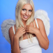 Smiling angel — Stock Photo