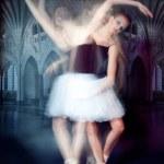 Ballerina in motion — Stock Photo